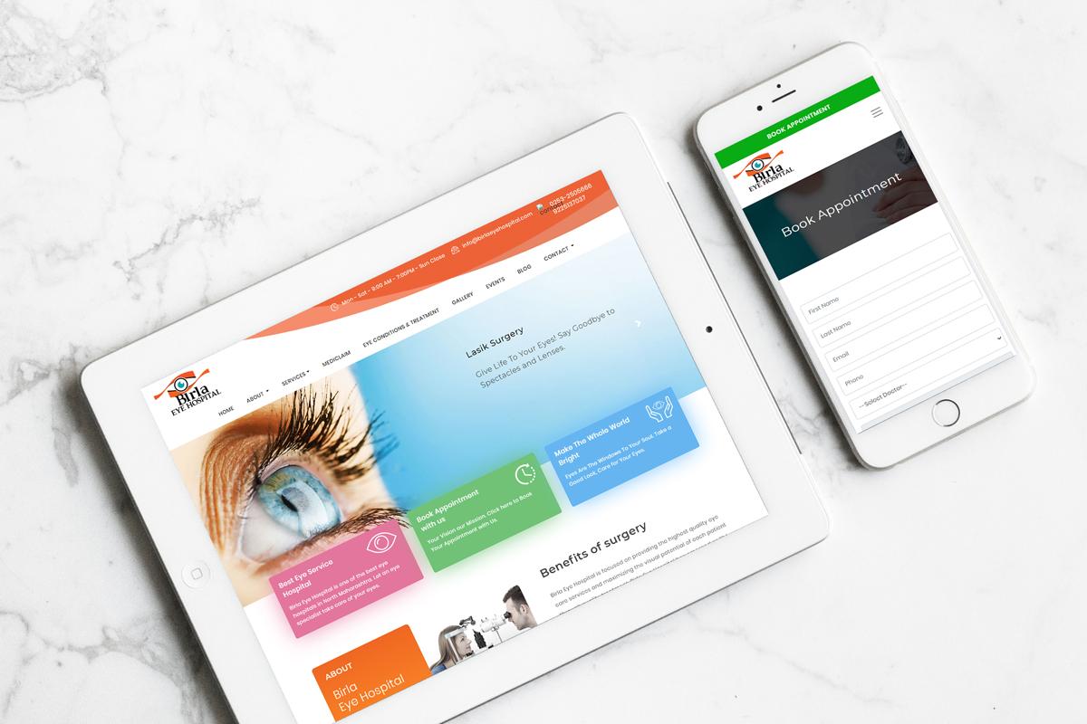 Digital Marketing StudioGenix Case Study - Birla Eye Care Hospital