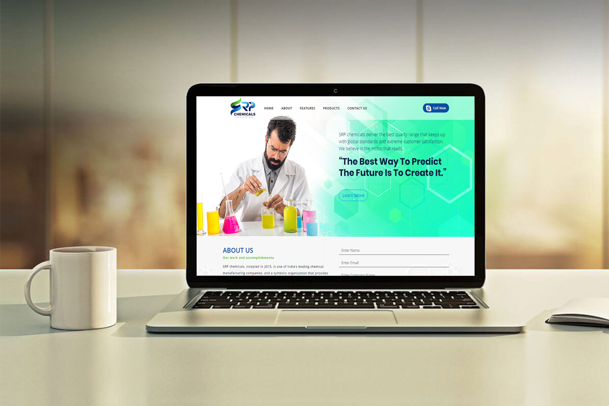 Digital Marketing StudioGenix Case Study - SRP Chemicals